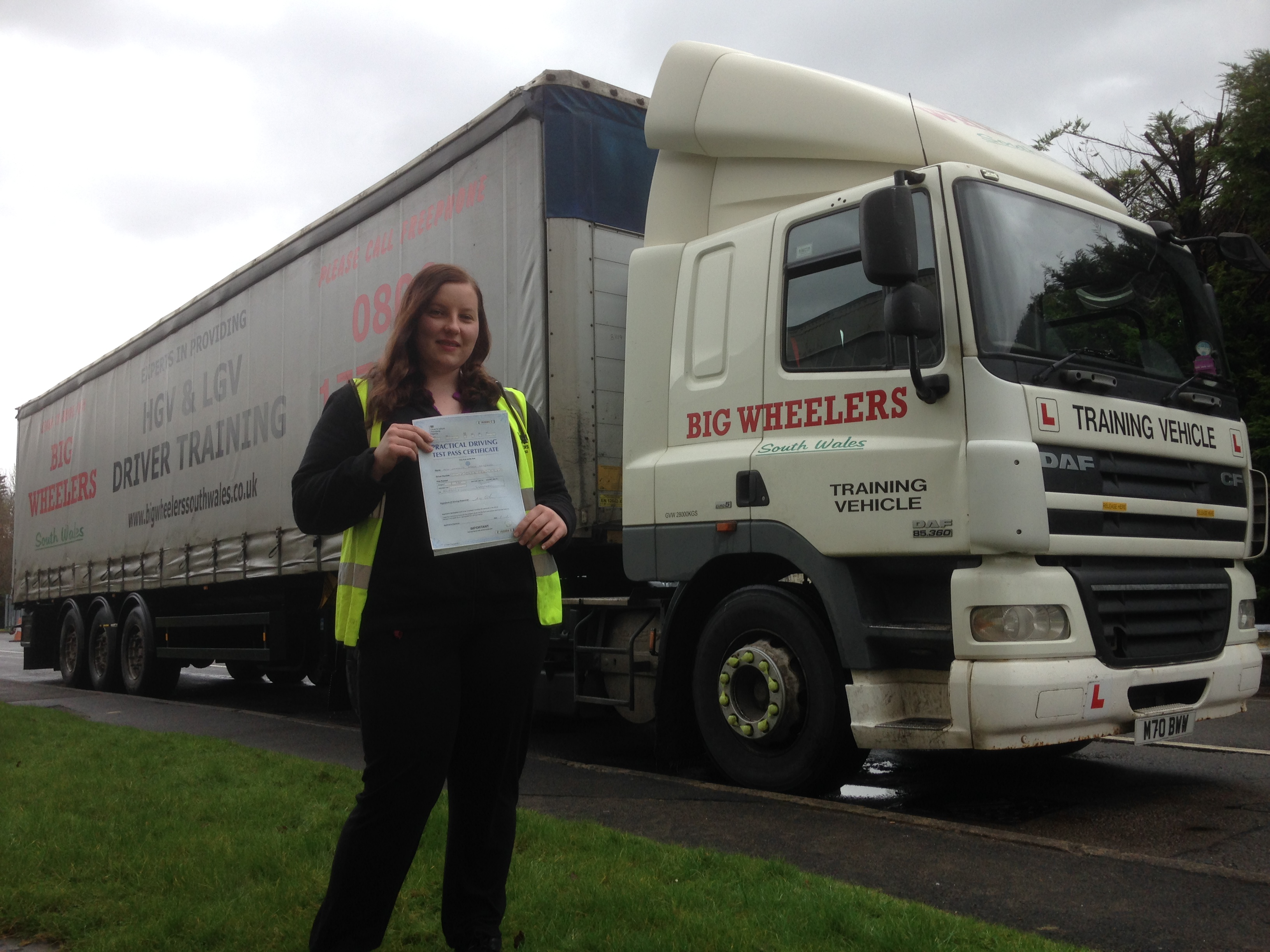 LGV C+E (HGV Class 1) Training Package (20 hours) for a Professional Artic Truck Driver