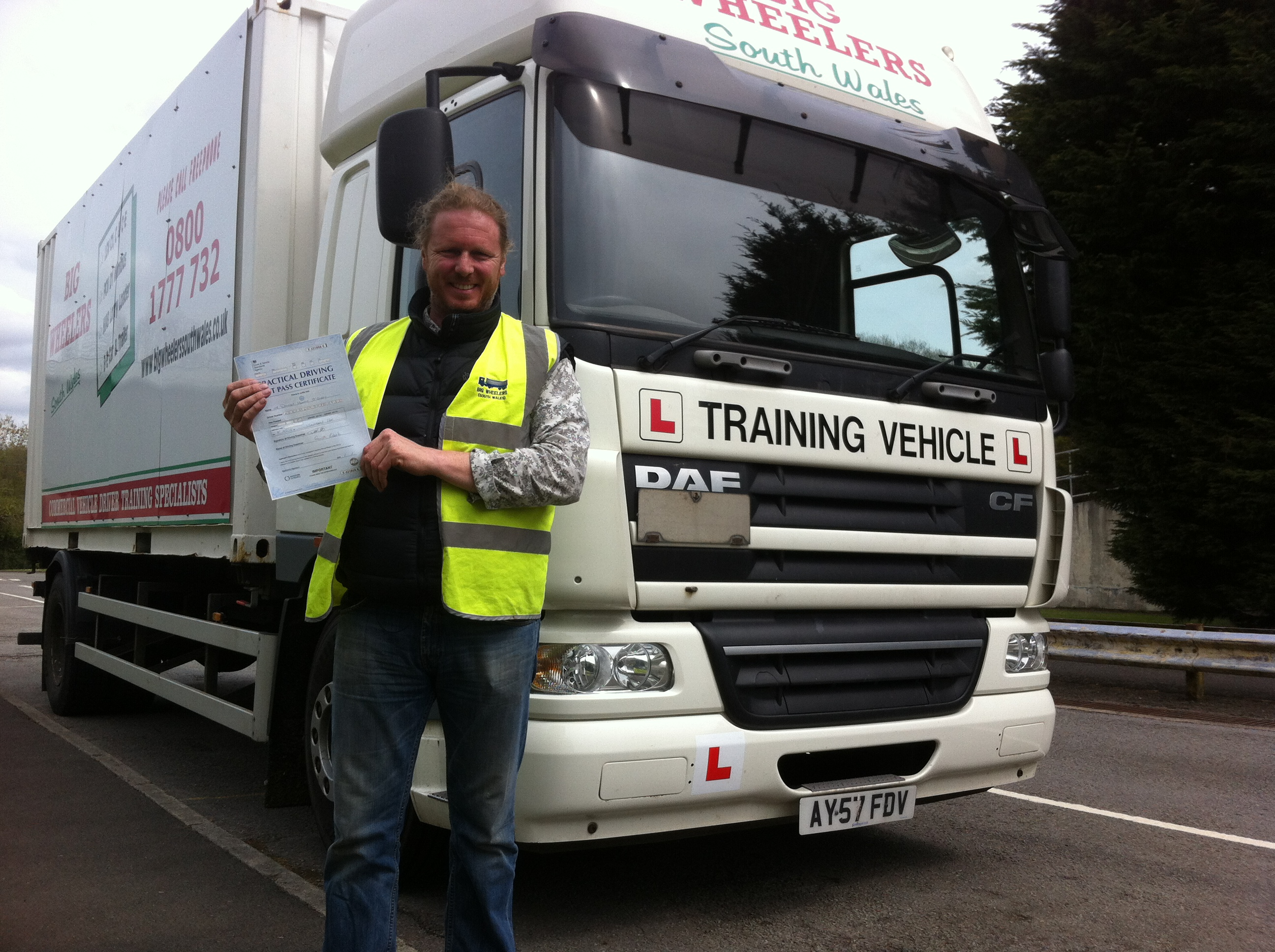 LGV C (HGV Class 2) Training Package (16 hours) for a Professional Rigid Truck Driver