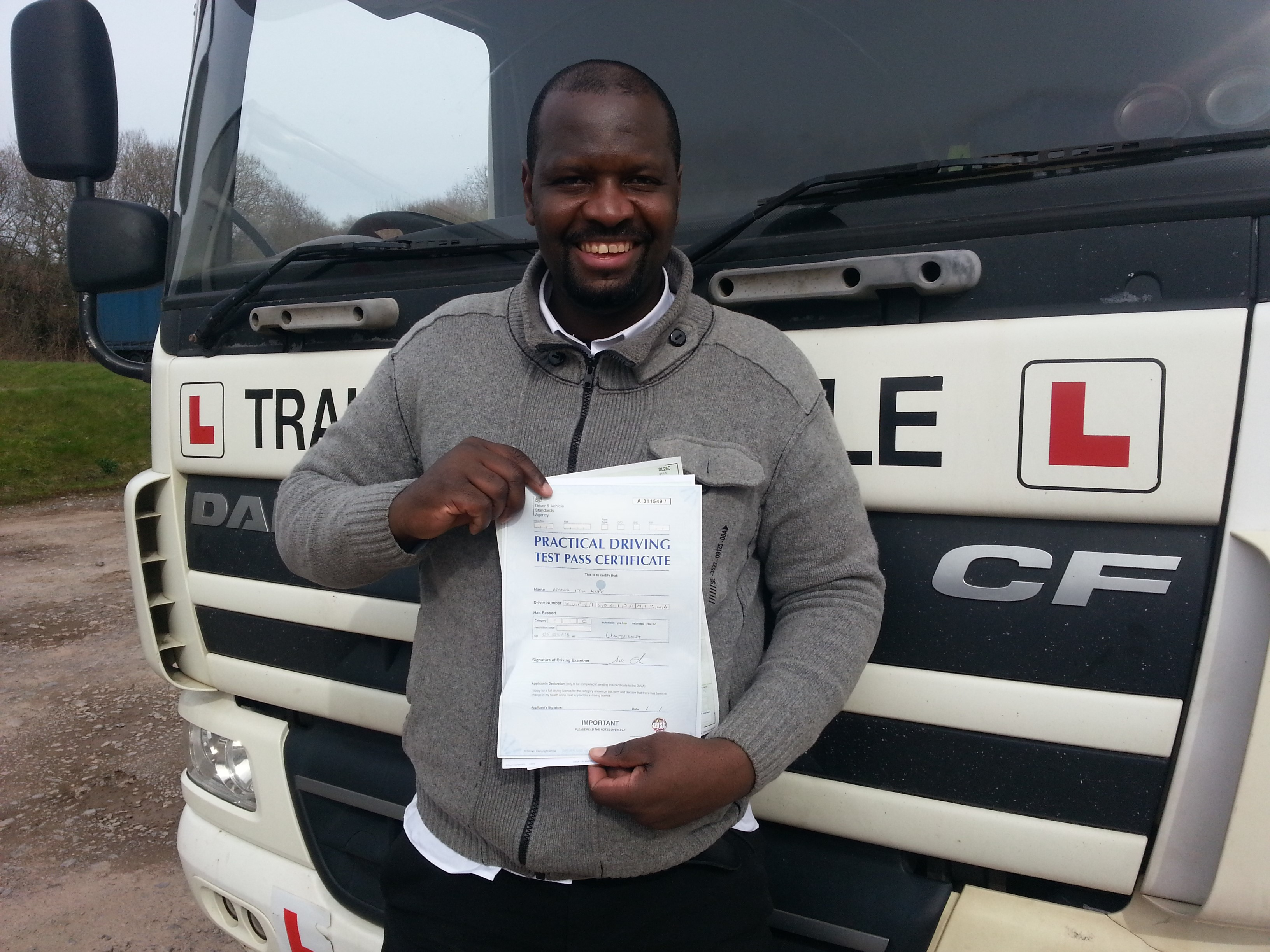 LGV C (HGV Class 2) Package (20 hours) and Driver CPC Periodic Training (35 hours)