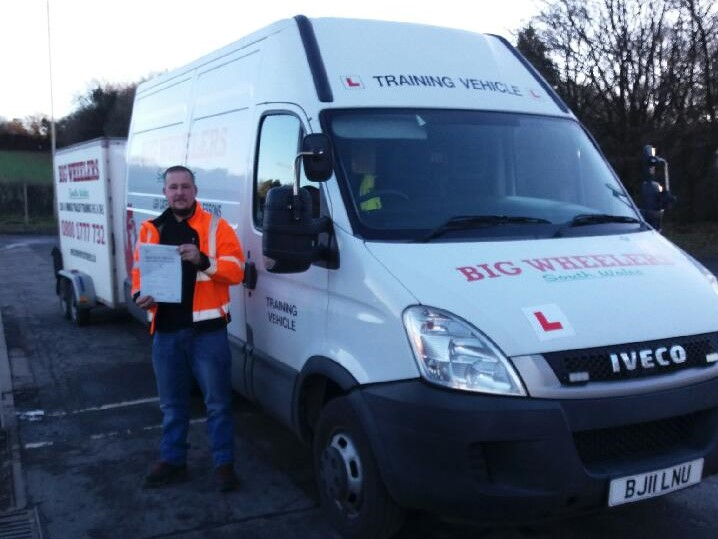 LGV C1+E (Medium Size Vehicle Towing a Trailer) Training Package (16 hours) – Using our Vehicle and Trailer