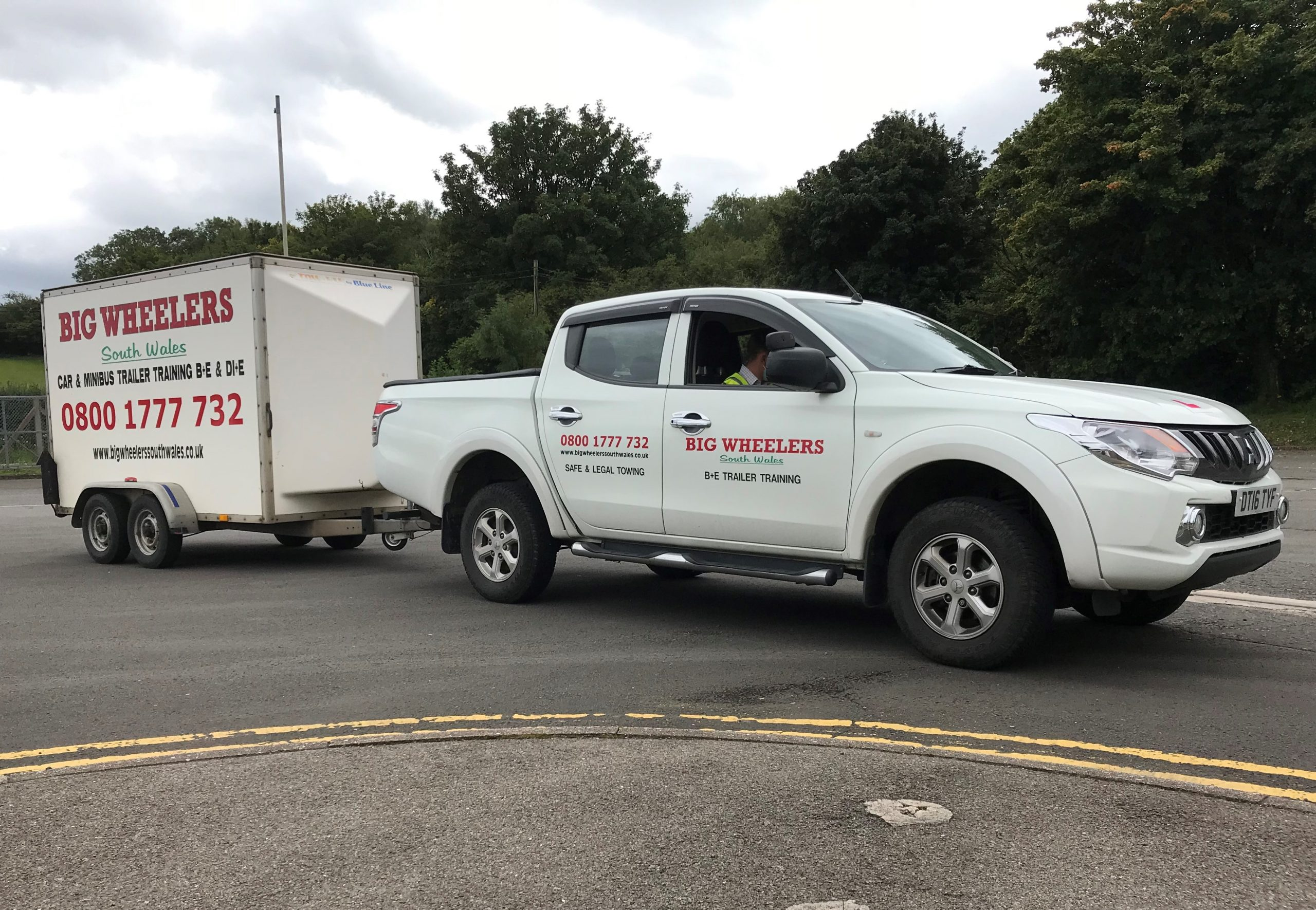 One Day B+E Trailer Training (Using our vehicle and trailer)