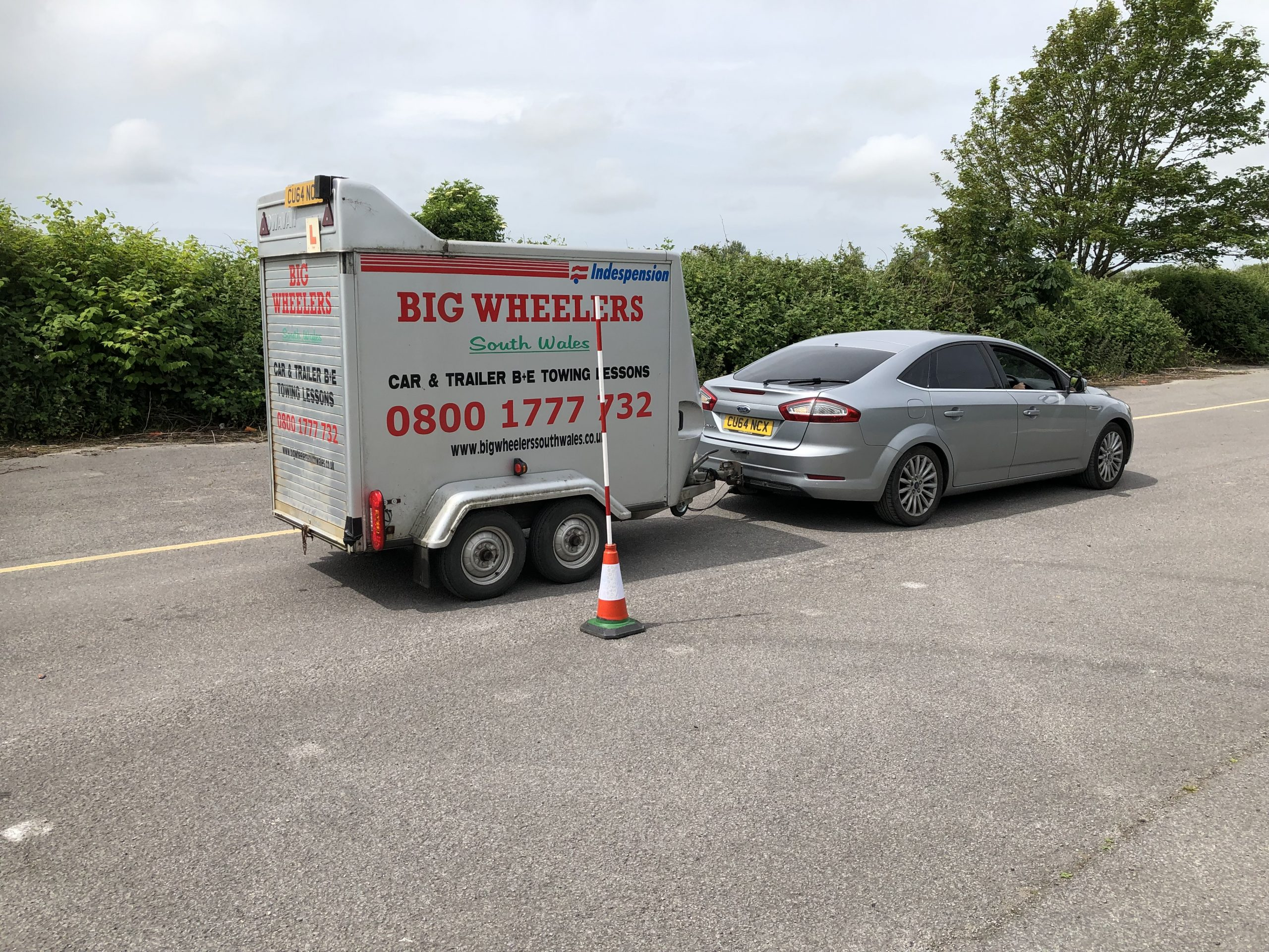 One Day B+E Trailer Training (Using own vehicle)