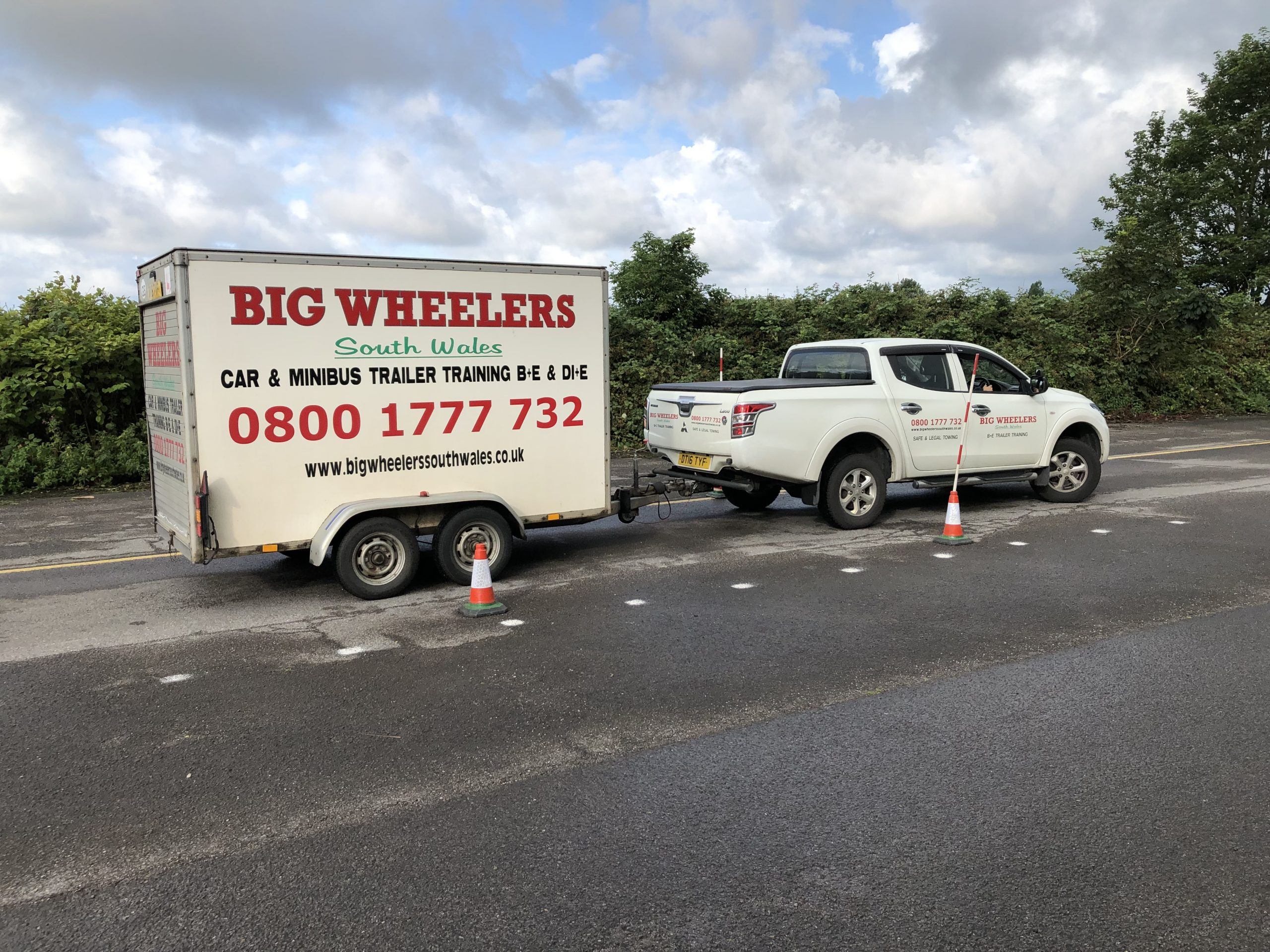 Half Day B+E Trailer Training (Using our vehicle and trailer)